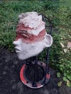 sculpture en terre - loic tellier
