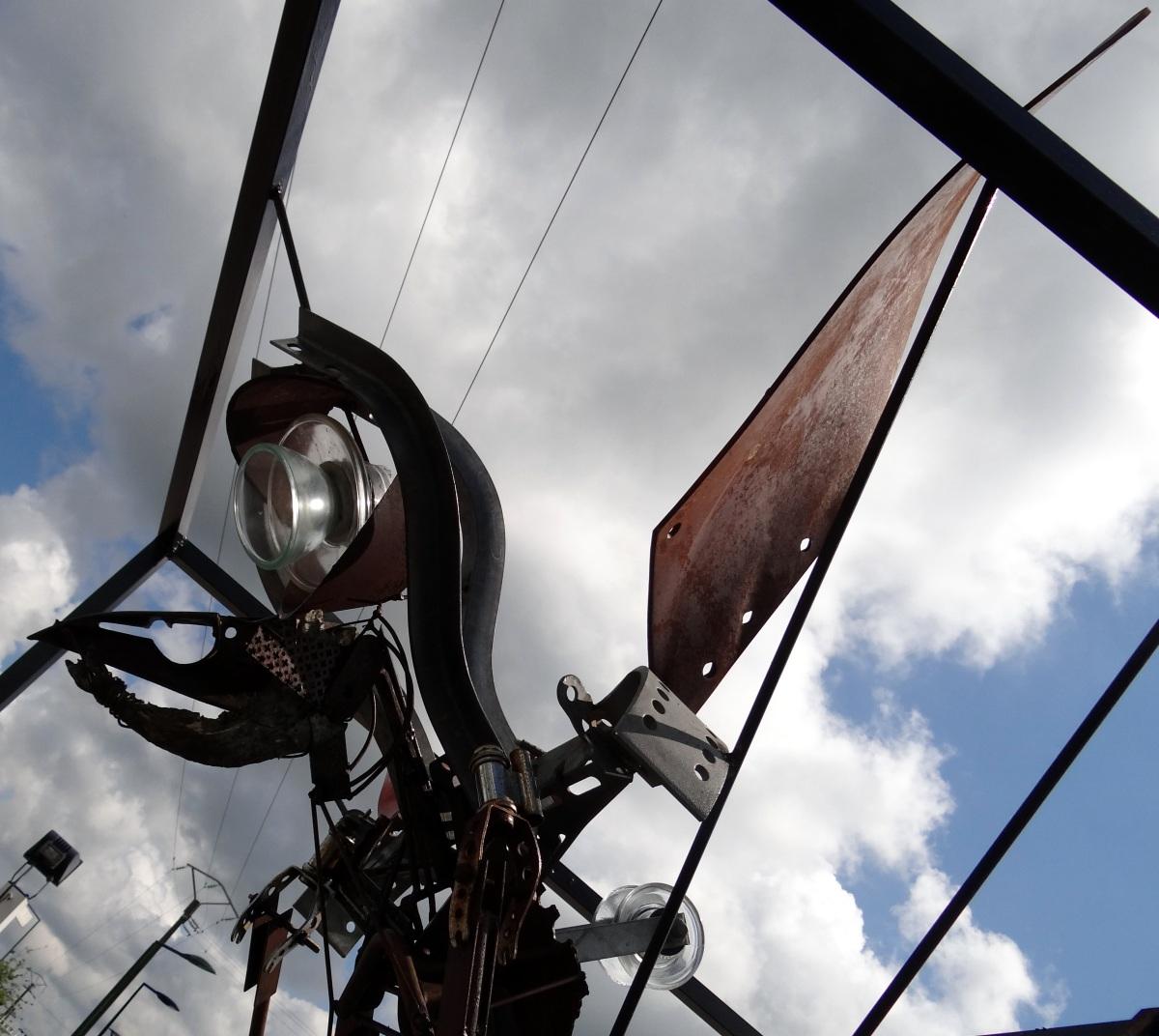 Le Cyclope au charbon 2016 loic tellier beaux lieux sculpture