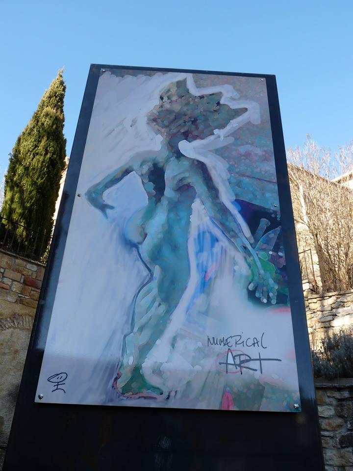 La Parfaite - Fanjeaux - Loic Tellier - sculpture