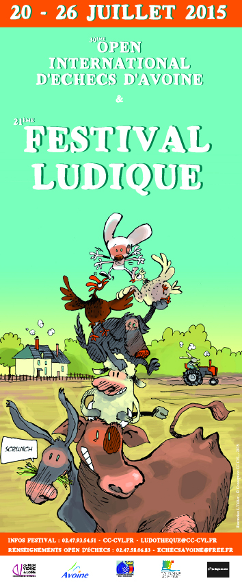 festival ludique 2015 - Loïc Tellier - illustration